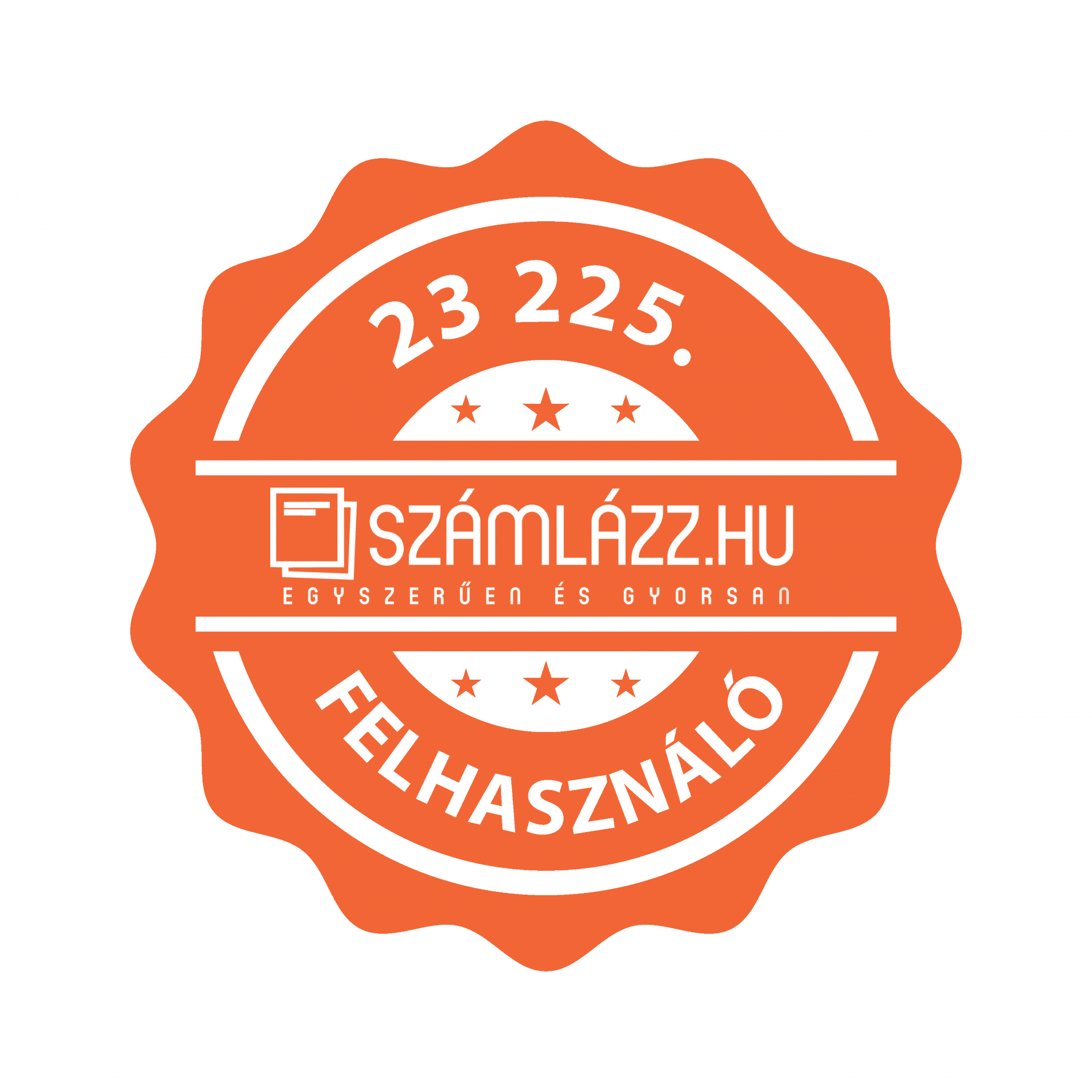 szamlazz.hu Badge